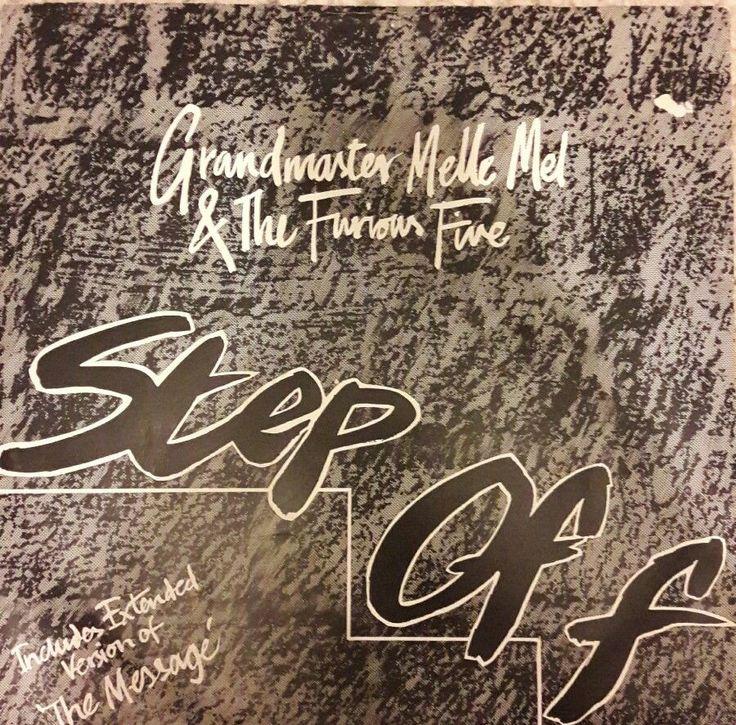 "Grandmaster Melle Mel & The Furious Five - Step Off 12"" Vinyl"