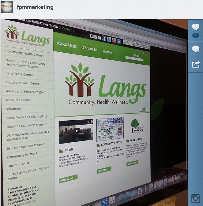 Langs Launched Live