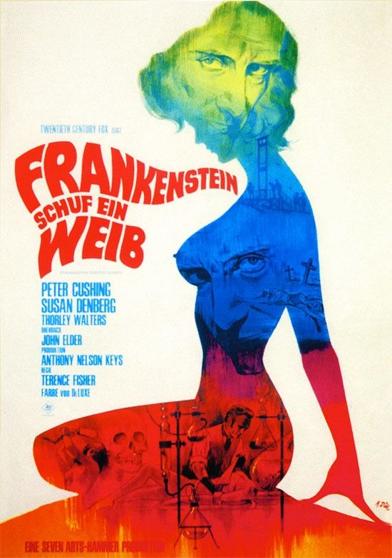 Frankenstein Created Woman Poster 113 best images about ...