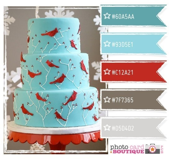 Love this!  This cake is done in most of my business colors (trade the gray for chocolate brown...) business-branding foodstuff-i-love foodstuff-i-love