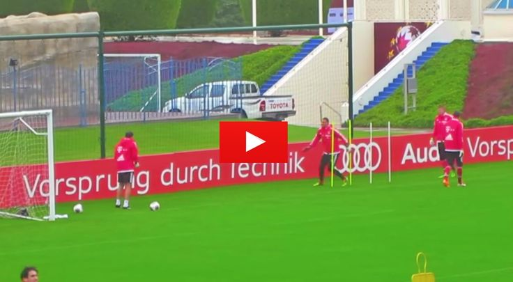 Bayern Munich Goalkeeper Training. The best videos and articles on the web for football coaches.