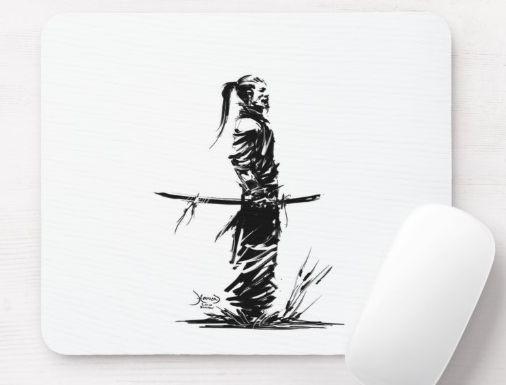 Mouse pad, samurai, from Japan with love, cool samurai. # Tattoos #japan #mou … # tattoos