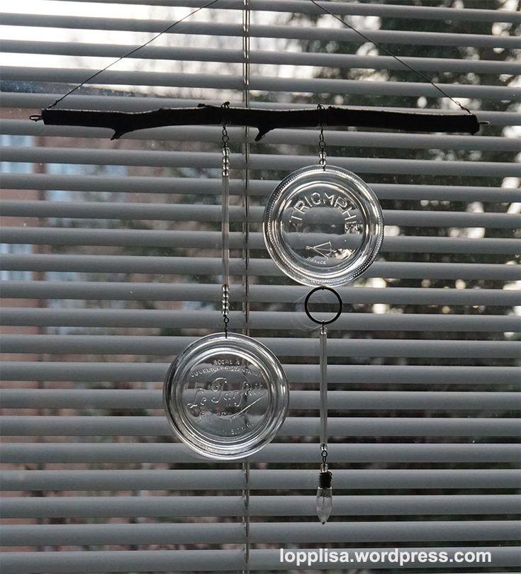 Mobil i återbrukat glas av Lopplisa