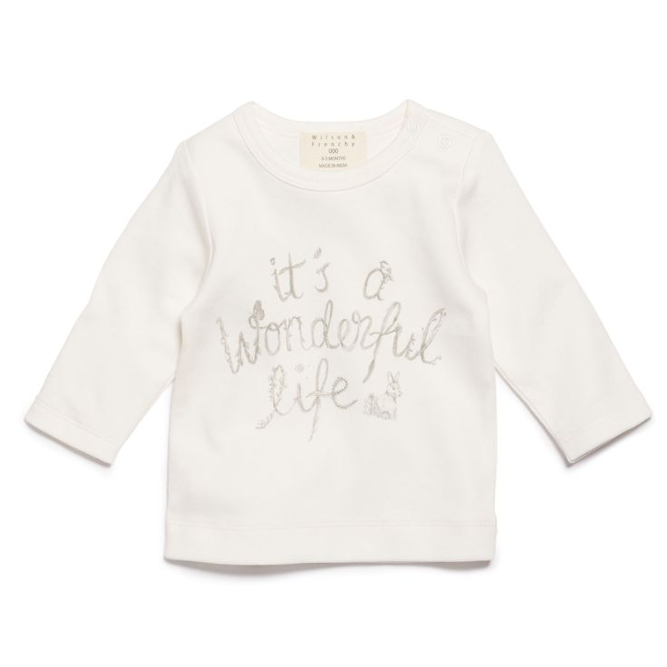 Unisex long sleeve top makes a lovely newborn gift. Pair with our hooded jackets and leggings to complete the look.   #wilsonandfrenchy #babystyle #newborn #baby #fashion #unisex #babylove #perfectbabies  #unisexbabyclothes  #newmum #babygift #babyshower #australiandesign #shopbaby #mumsunite #babylove #magicofchildhood #little