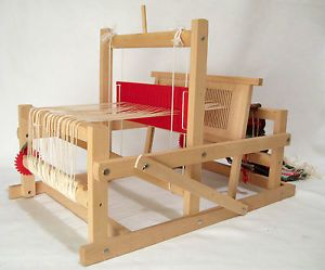 Brio loom. FINALLY put it to use, weave a bit of cloth (for doll, maybe?)