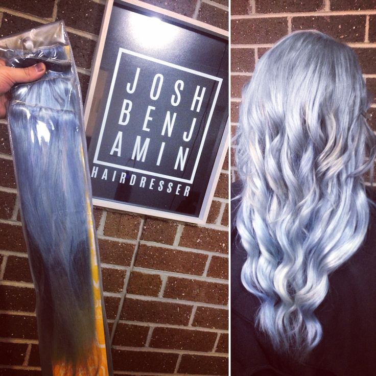 Custom made hair extensions - cut and coloured to suit you by Josh Benjamin