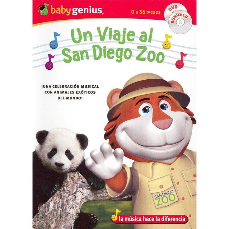 Baby Genius: Un Viaje al Zoologico de San Diego (DVD/CD)