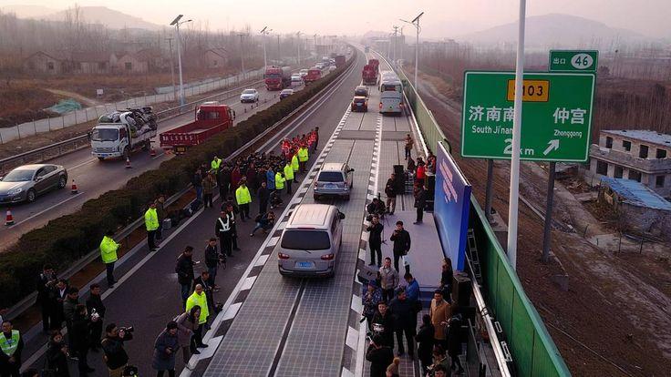 Nachricht:  http://ift.tt/2CdSf1y Innovation aus China: Erste Solarfahrbahn lädt E-Autos während der Fahrt auf