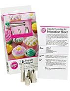 Wilton 12-Piece Cupcake Decorating Set #wilton #gift #mothersday #davidjones #cupcake