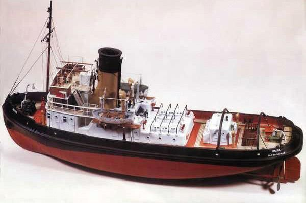 Caldercraft Imara Radio Control Model Boat Kit | Hobbies Typical of many of the period 'Imara' was a twin screw harbour tug.  A Caldercraft model with over 1,400 parts the following are the most outstanding.  Hull, main and rear deckhouse and funnel are moulded in GRP with all rivet and plating detail faithfully reproduced