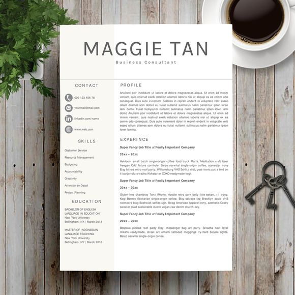 17 best Resume\/CV template by Spot-On Resume images on Pinterest - landscaping skills resume