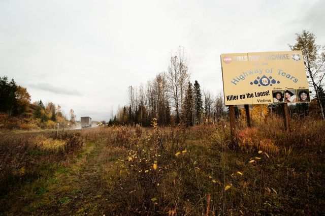 This disturbing pattern of missing people has first been noticed in the period of 1988-1995. This is believed to be happening on the 720km long quiet road now known as the Highway of Tears. So many questions are popping up in my head now, and no logic answer to what is happening here.