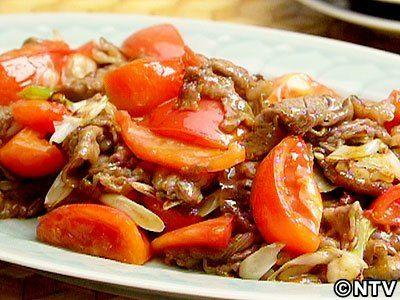 暑い夏にはありがたい素早く出来て経済的な一皿「トマトと牛肉のオイスターソース炒め」のレシピを紹介!