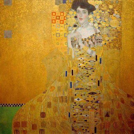 Gustav Klimt / Adele Bloch-Bauer I #Gustav #Klimt #weewado #gustav #klimt #woman #Art #Nouveau