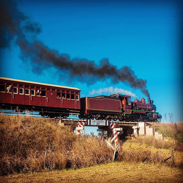 Take a nostalgic trip into yesteryear with a steam train journey to Warwick #thisisqueensland by @ksj1959