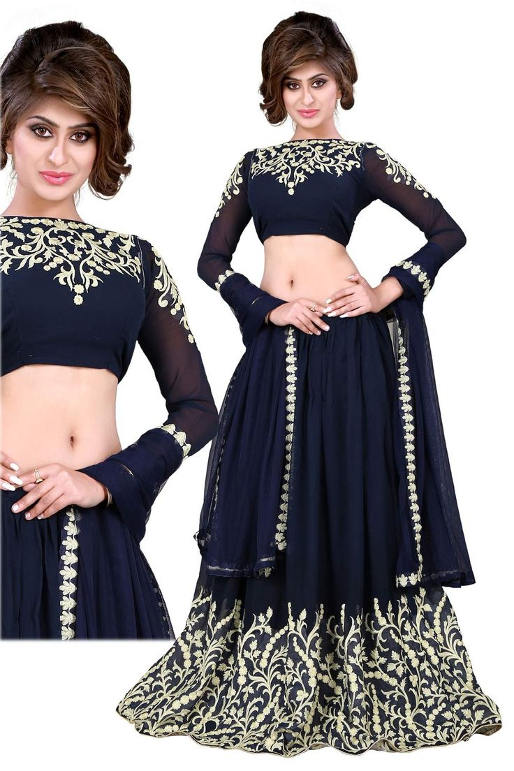 Enjoy and wear Impressive Party Wear Lehengas For Eid Ul Adha Parties on Eid Ul Adha (Eid Al Adha) a great festival for great happiness. Party wear Lehengas are morefashionableandhavemore of a silhouette outlining to the garment. The Lehengas worn bythe majority of womento a party would seea large range oftextures in material and in