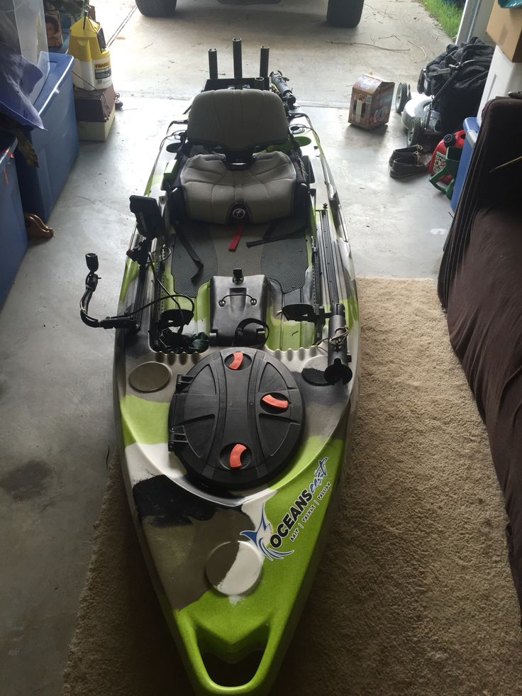 344 best images about small boat fishing on pinterest for Feelfree lure 11 5 with trolling motor