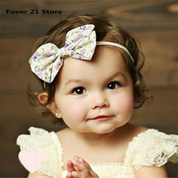 1 ШТ. Lovely Baby Девушки Вертушка Лук Головная Повязка Твердые Ленты Лук Повязки Милые Дети Аксессуары Для Волос Бесплатная доставка Оптовые #jewelry, #women, #men, #hats, #watches