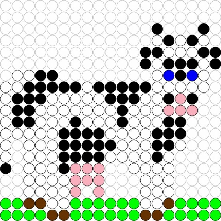 kralenplank-koe.jpg (1500×1499)