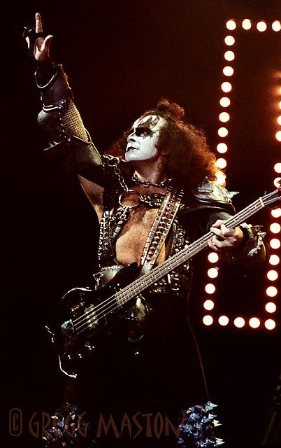 Gene Simmons - 1981 by Gregg Maston