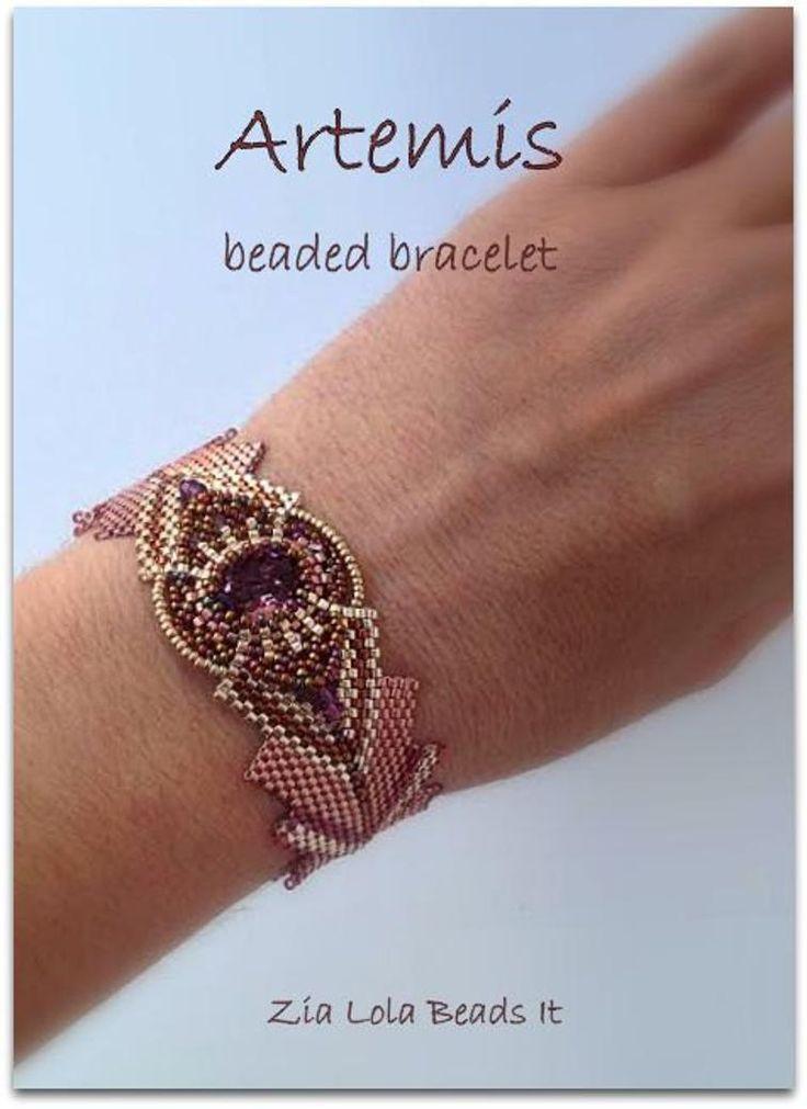 Artemis beaded bracelet | Craftsy