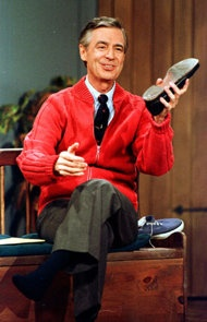 Mister Rogers wore his trademark sneakers for practical reasons — they didn't make a sound.
