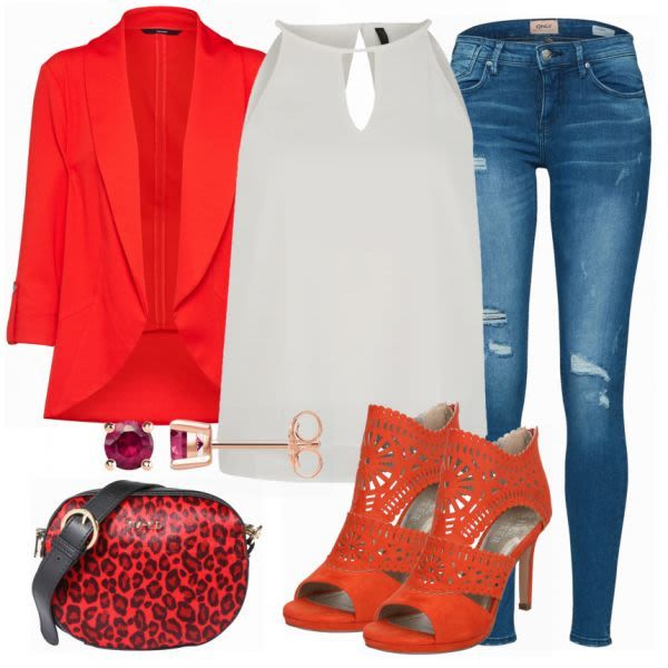 Sommer-Outfits: Only Top bei FrauenOutfits.de #mode #damenmode #frauenmode #outf…