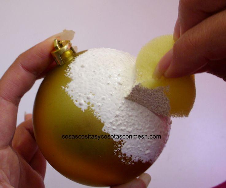 esferas de unicel decoradas   Paso3. -Eligir la servilleta que queremos pegar en la esfera.Recortar ...