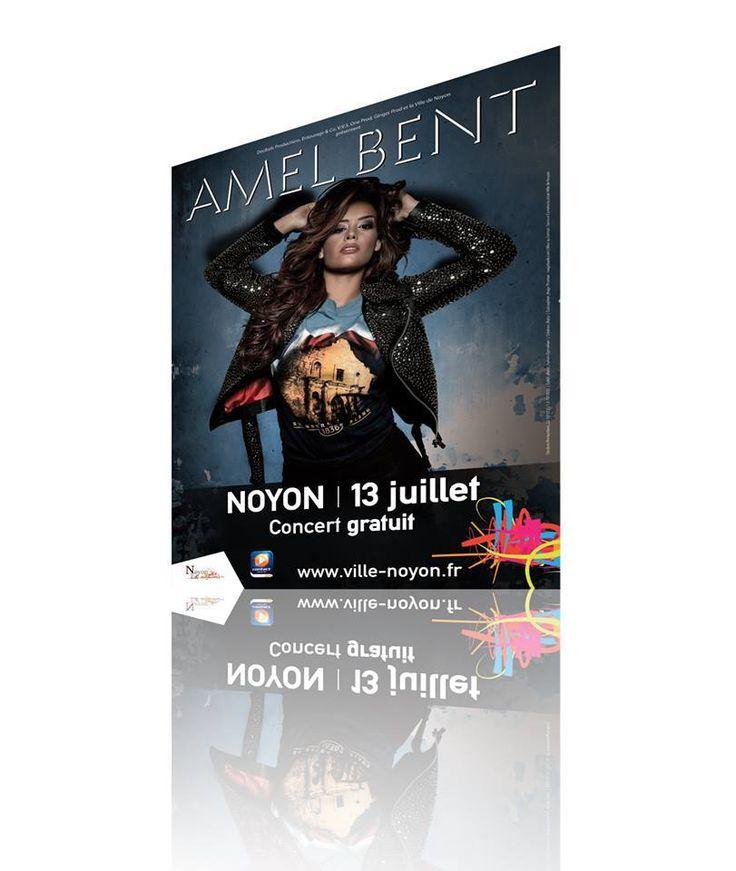 Affiche // Concert AmelBent