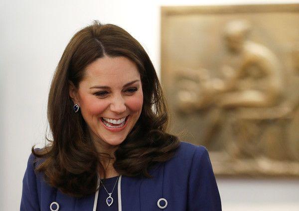 ZIMBIO _ lovely! - Catherine, The Duchess of Cambridge visits St Thomas' Hospital on February 27, 2018 in London, England. - The Duchess Of Cambridge At RCOG And Launching 'Nursing Now' Campaign