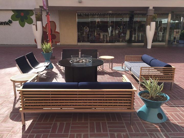 This Pair Of BEO In Out Sofas Offer A Sophisticated, Outdoor Lounge Area  For Shoppers To Rest After A Busy Day At Westfield Mission Valley In San  Diego, CA. Part 92