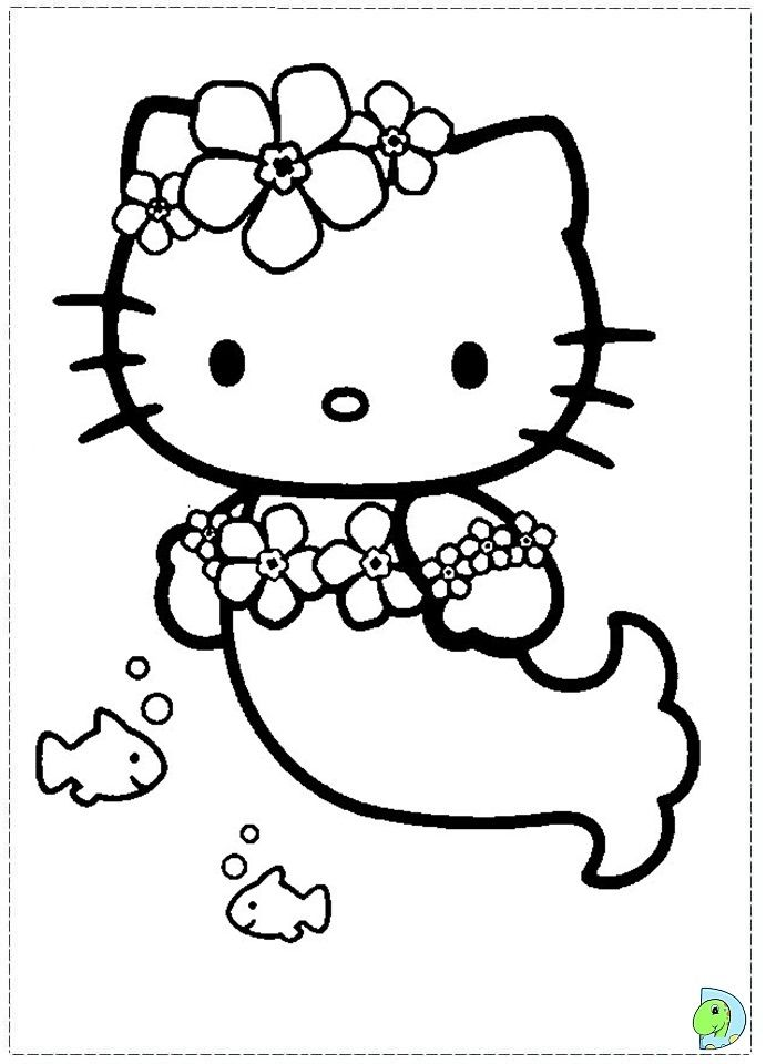 Coloring Page Hello Kitty Colouring Pages Hello Kitty Coloring