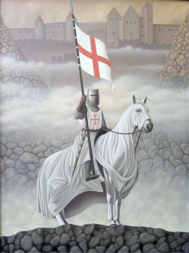 I am fascinated by the Knights Templer. I have recently discovered an ancestor was a templer and his father was a supporter.