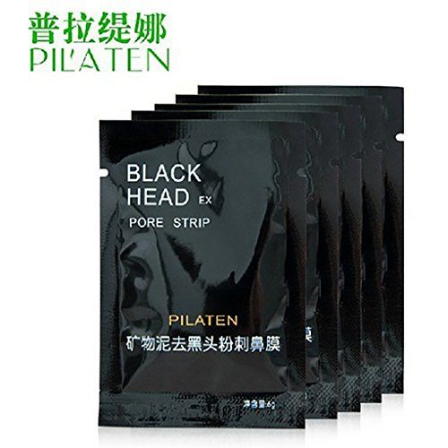 Memay PILATEN Face Care tool Facial Minerals Conk Nose Blackhead Remover Mask Tool Pore Cleanser Black Head EX Pore Cream 6g 10pcs ** See this great product.