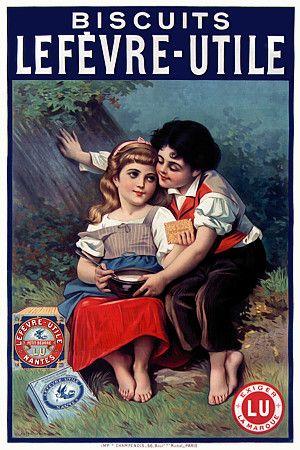 Biscuits Lefevre-Utile. 1896  http://www.vintagevenus.com.au/vintage/reprints/info/FD339.htm
