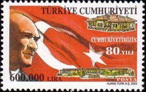 Kemal Ataturk and National Flag 2003