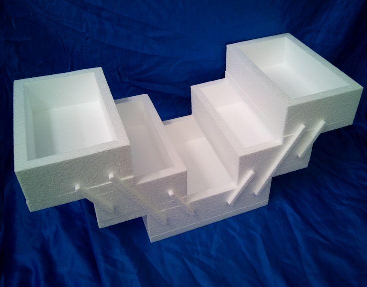 Custom made sewing box cake dummy for customer.