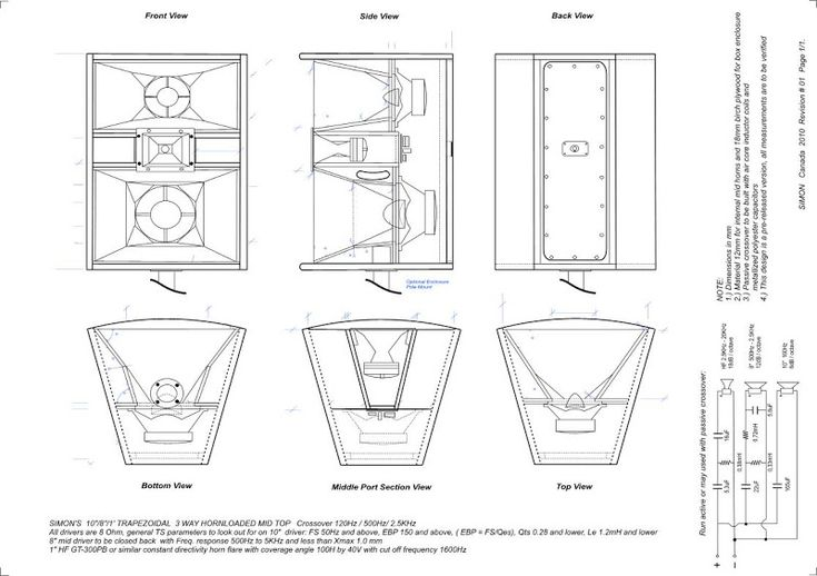Simon's 3 way horn loaded mid top - Speakerplans.com Forums - Page 4