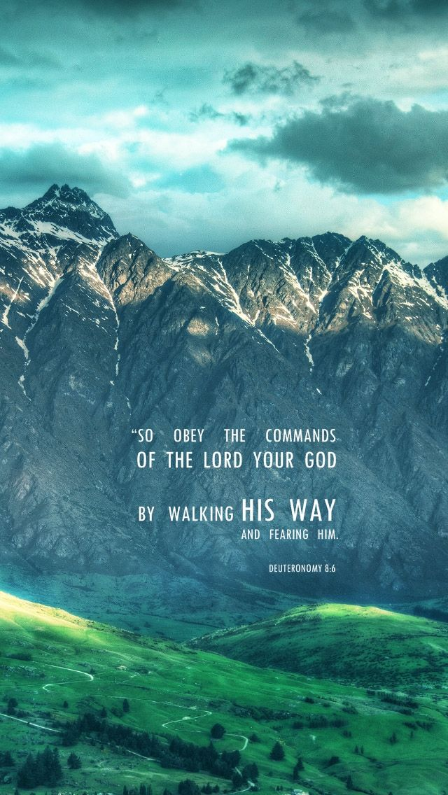 ...walking in His Way.