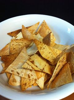 """Skinny Healthy Lifestyle: Mountain Bread """"tortilla"""" chips"""