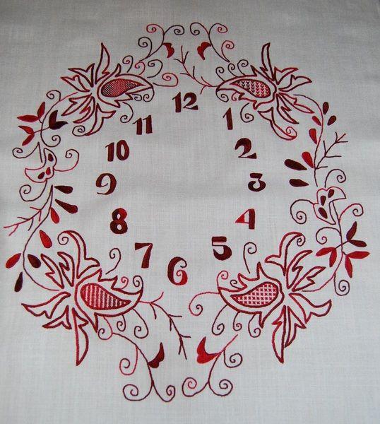 Reloj Punto Mallorquín de Aerides por DaWanda.com