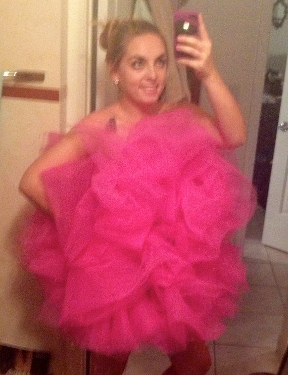 ITS ALMOST HALLOWEEN TIME... WHAT WILL YOU BE WEARING???  Shower Puff Costume luffa tutu by ThePUFF on Etsy, $40.00