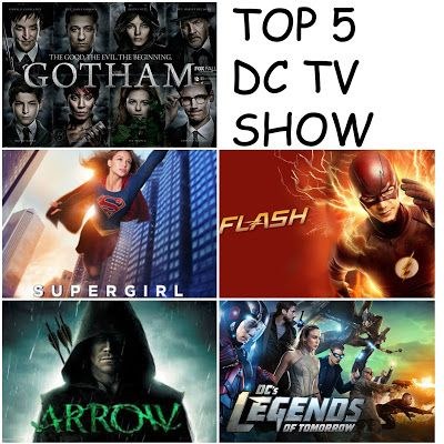 Top 5 DC Tv Shows - She Says