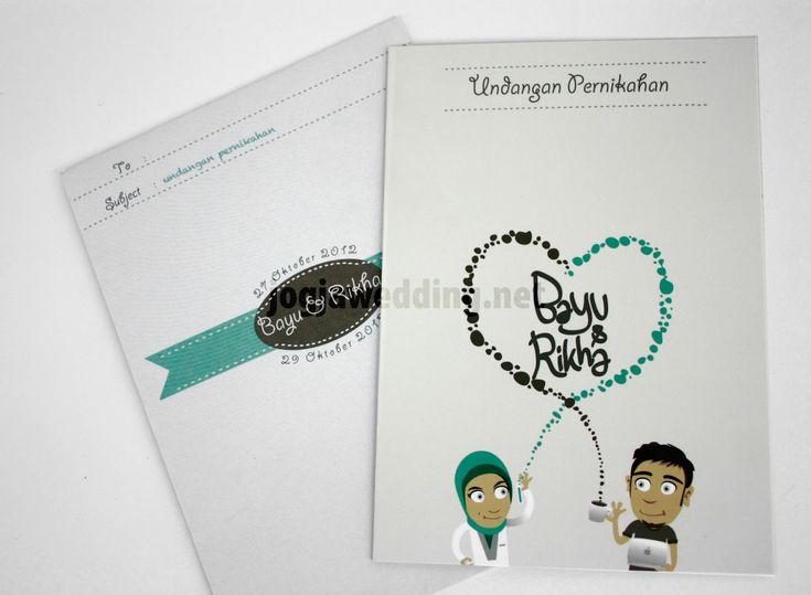 62 Contoh Desain Undangan Pernikahan Unik ~ Ayeey.com ...
