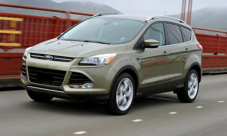 Wow.  New Ford Escape is beautiful!