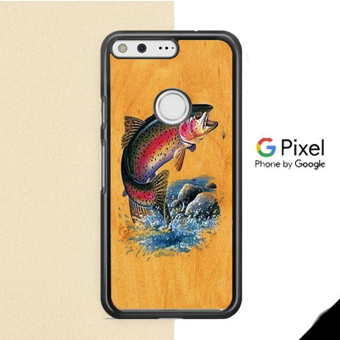 Bass Fishing Game Vintage Google Pixel Case