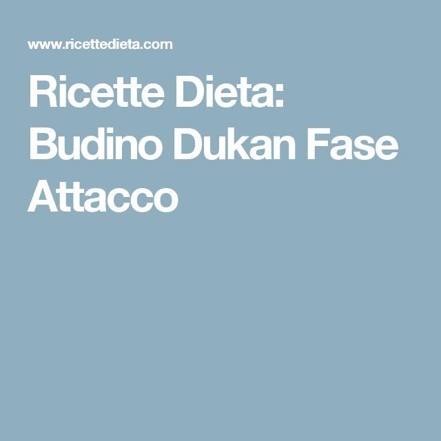 Ricette Dieta: Budino Dukan Fase Attacco