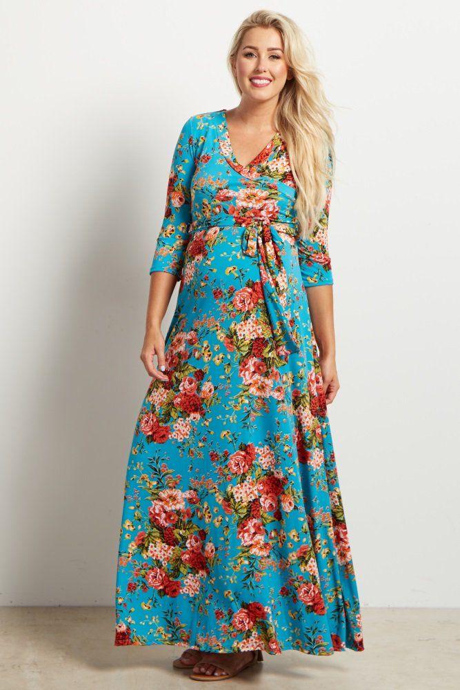 Maternity Floral Dresses