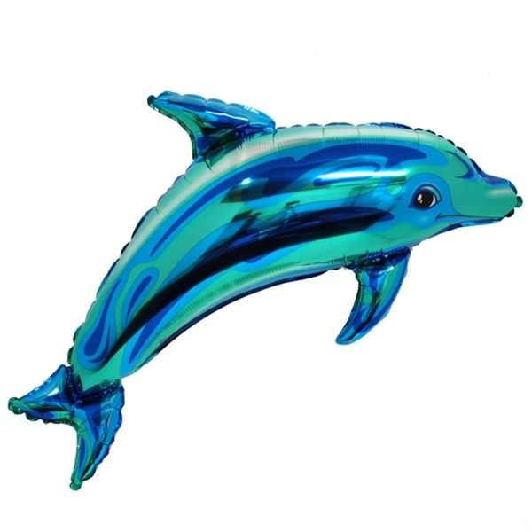 'Is my dolphin really a dolphin, or is he a balloon?'  she asked,