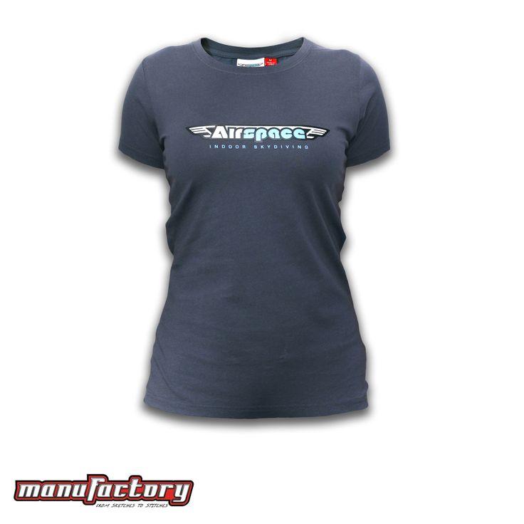 Womens T-shirt, Classic, Charcoal